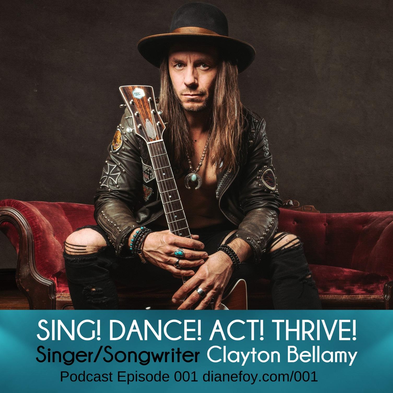 Clayton Bellamy, Musician