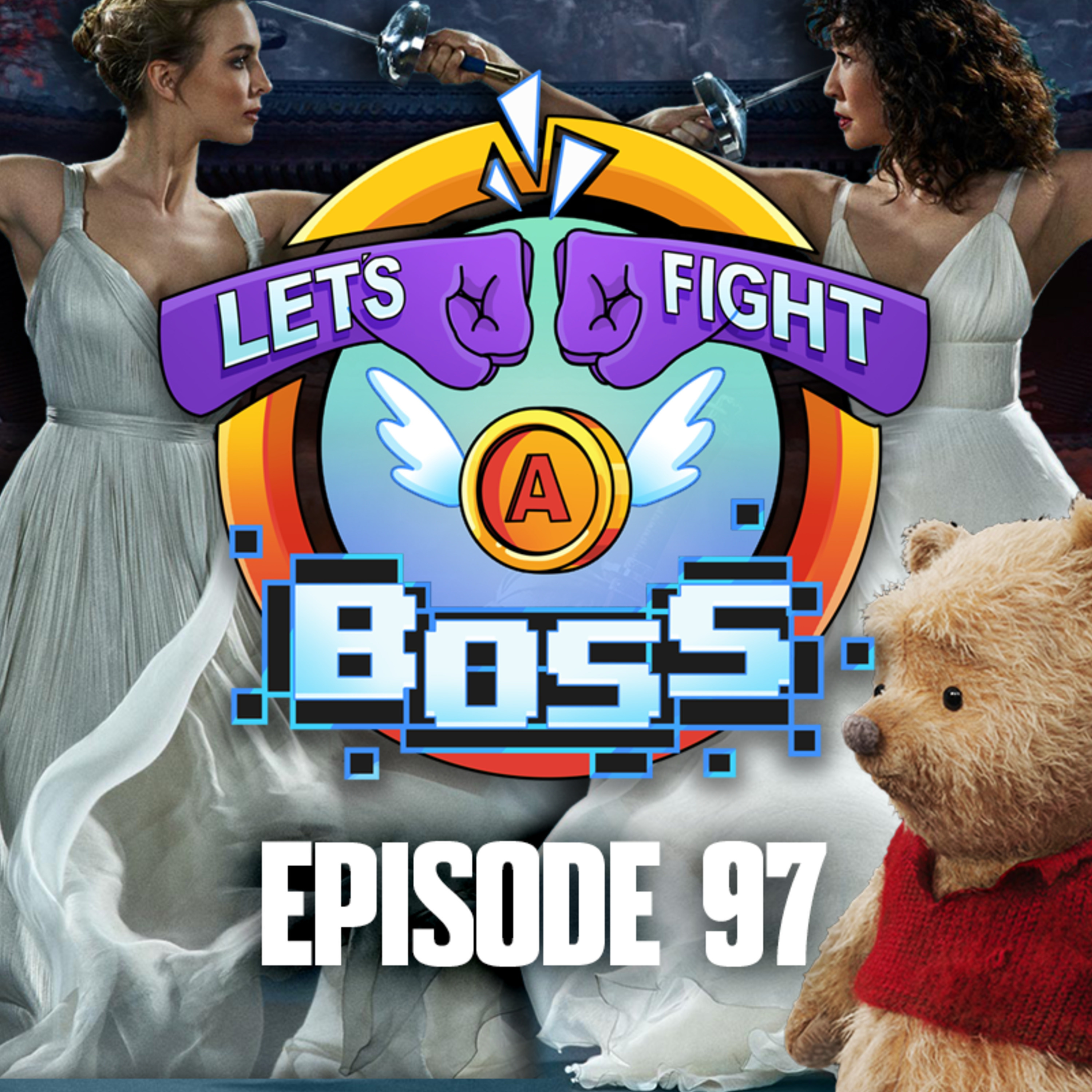 Ep 51: Let's Eat a Ghost – Let's Fight a Boss – Podcast