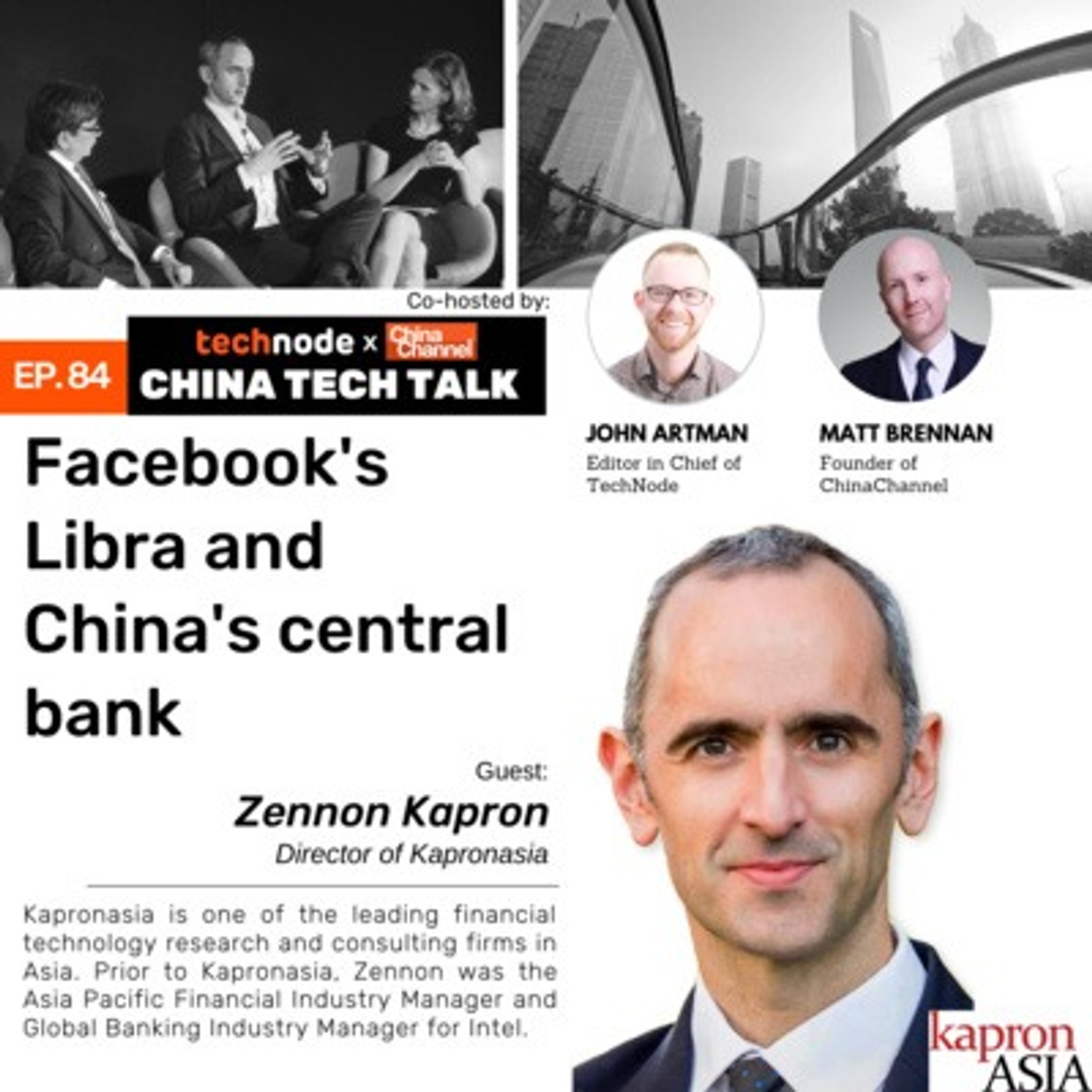 84: Facebook's Libra and China's Central Bank with Zennon Kapron