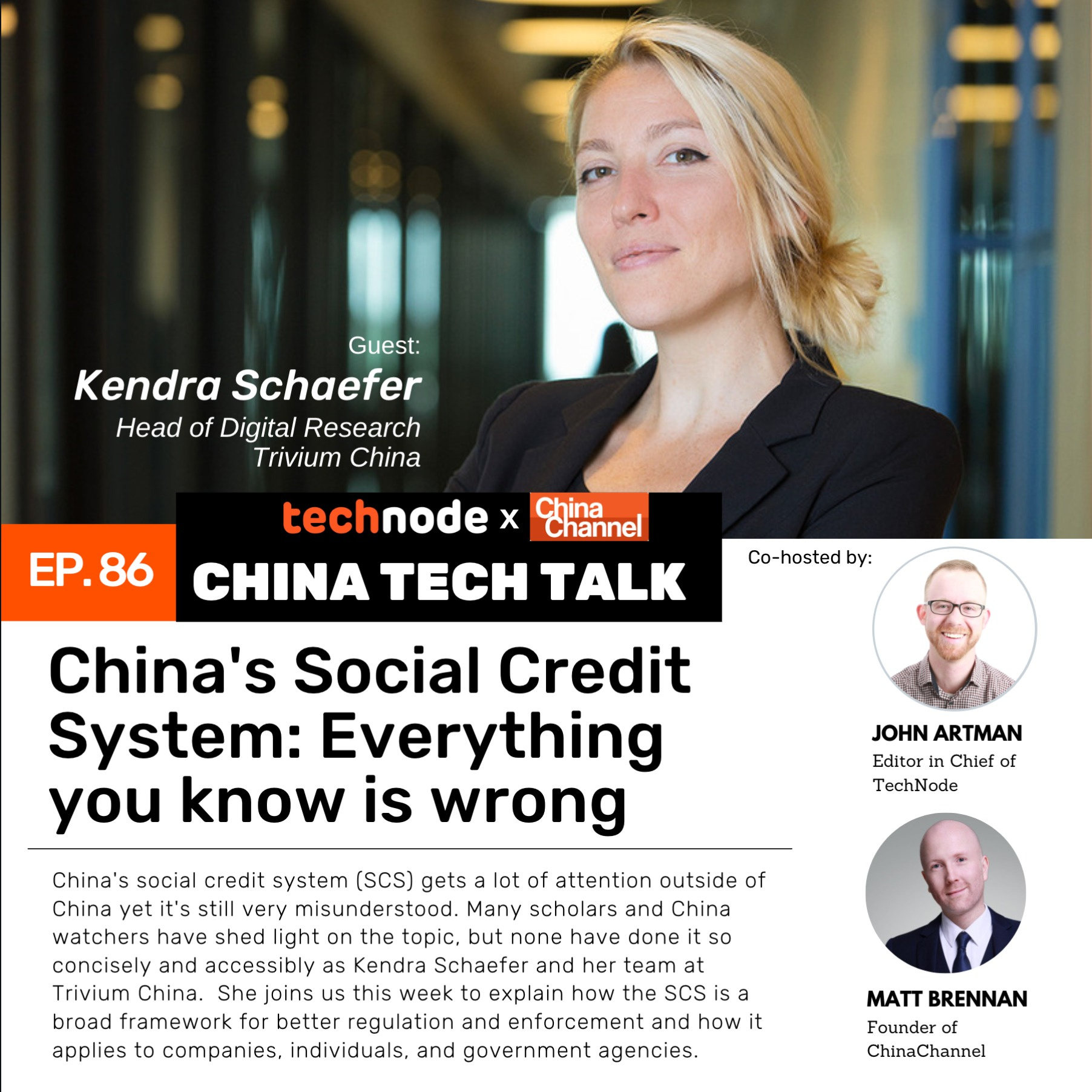 86: China's social credit system: Everything you know is wrong with Kendra Schaefer