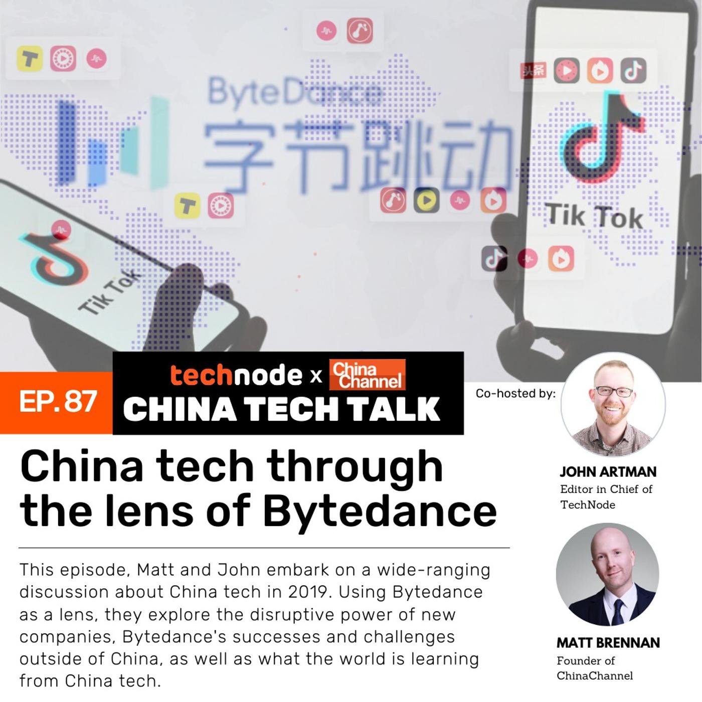 87: China tech through the lens of Bytedance