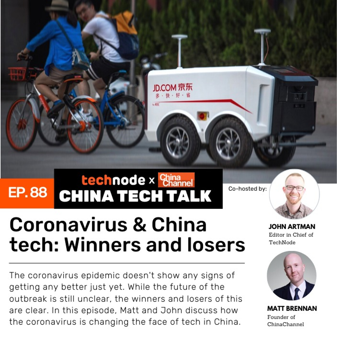 88: Coronavirus & China tech: Winners and losers