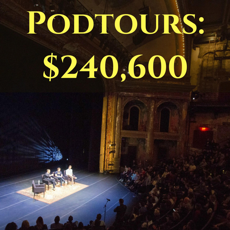 Podtours: $240,600 a Night