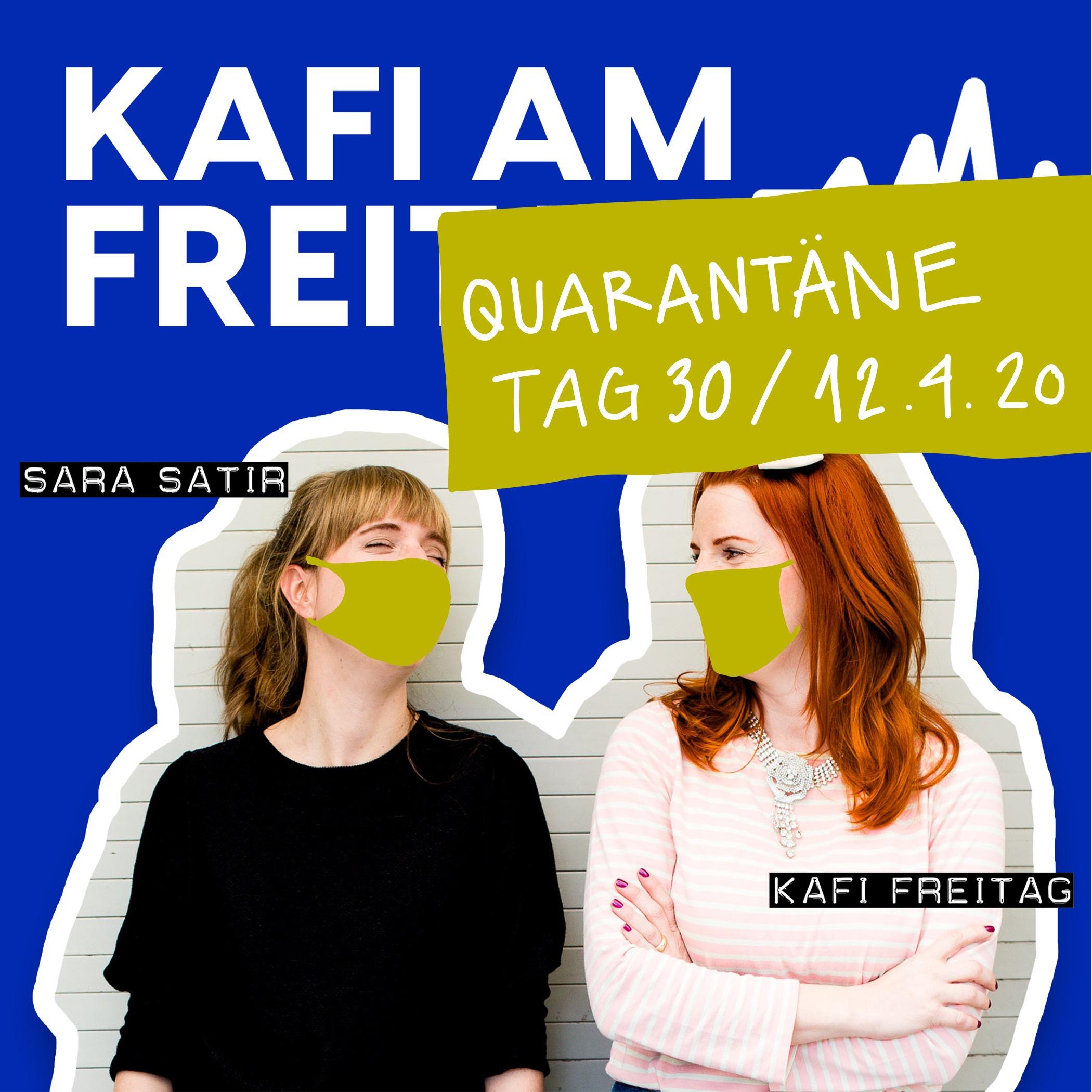 Quarantäne Tag 30 - 12.4.20
