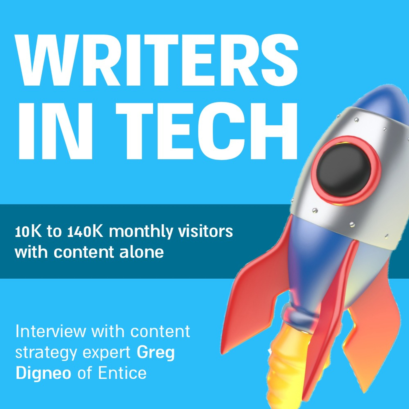 10K to 140K monthly visitors with content alone | Interview with content strategy expert Greg Digneo