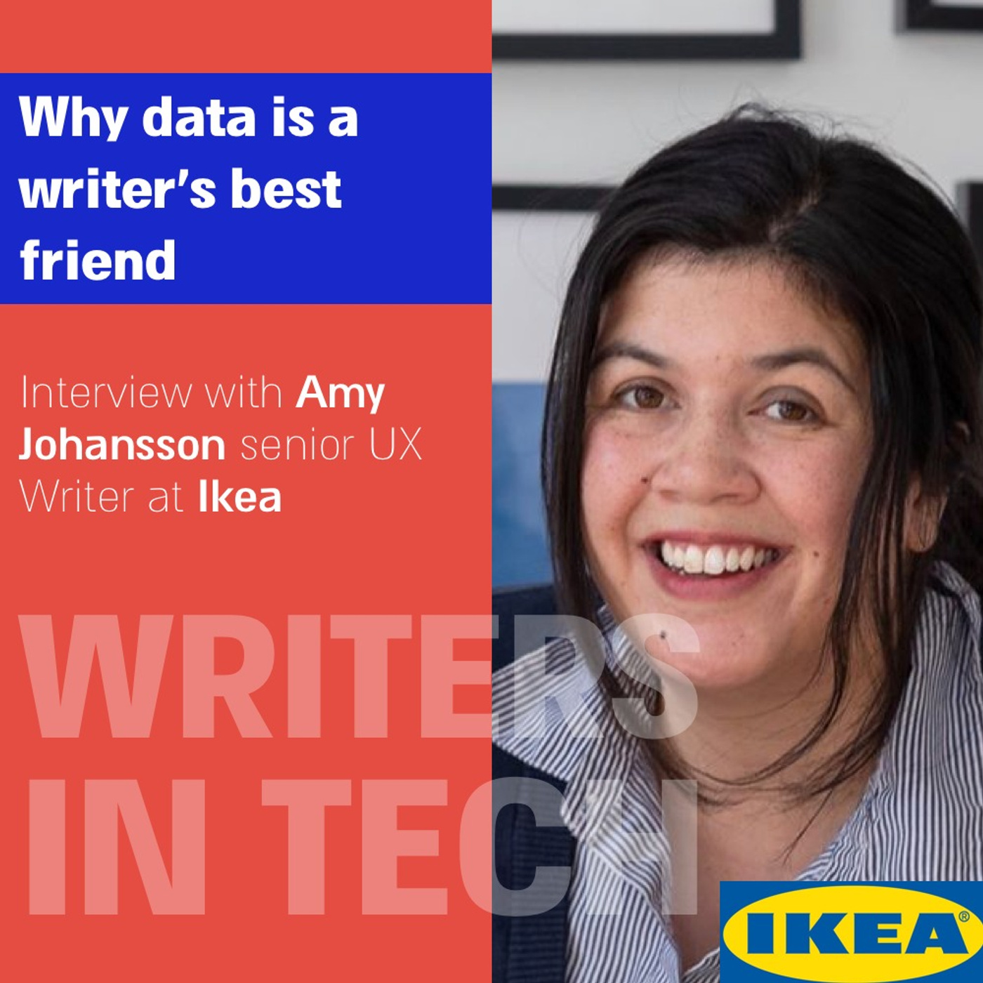 Why data is a writer's best friend | Interview with Amy Johnson of Ikea