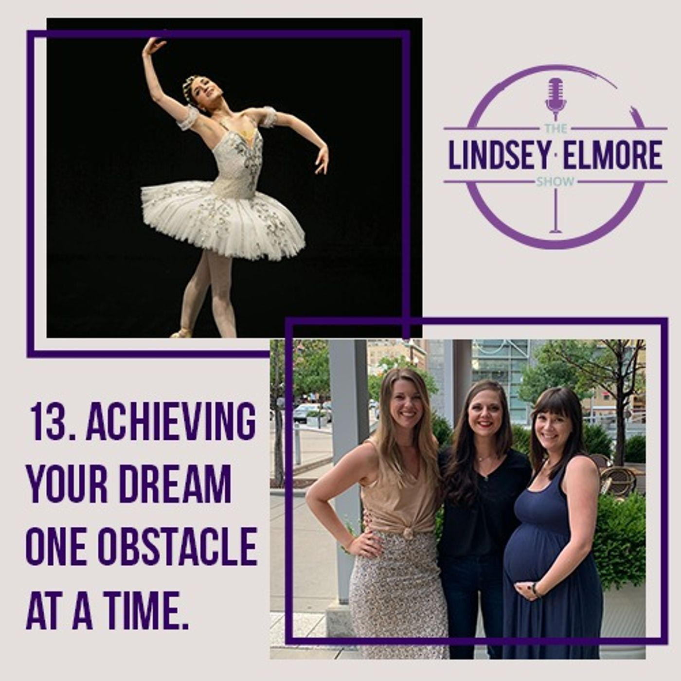 Achieving your dream one obstacle at a time. Interviews with Joy Womack, Chelsea Tenney, Kate Lyons, and Haylee Crowley.