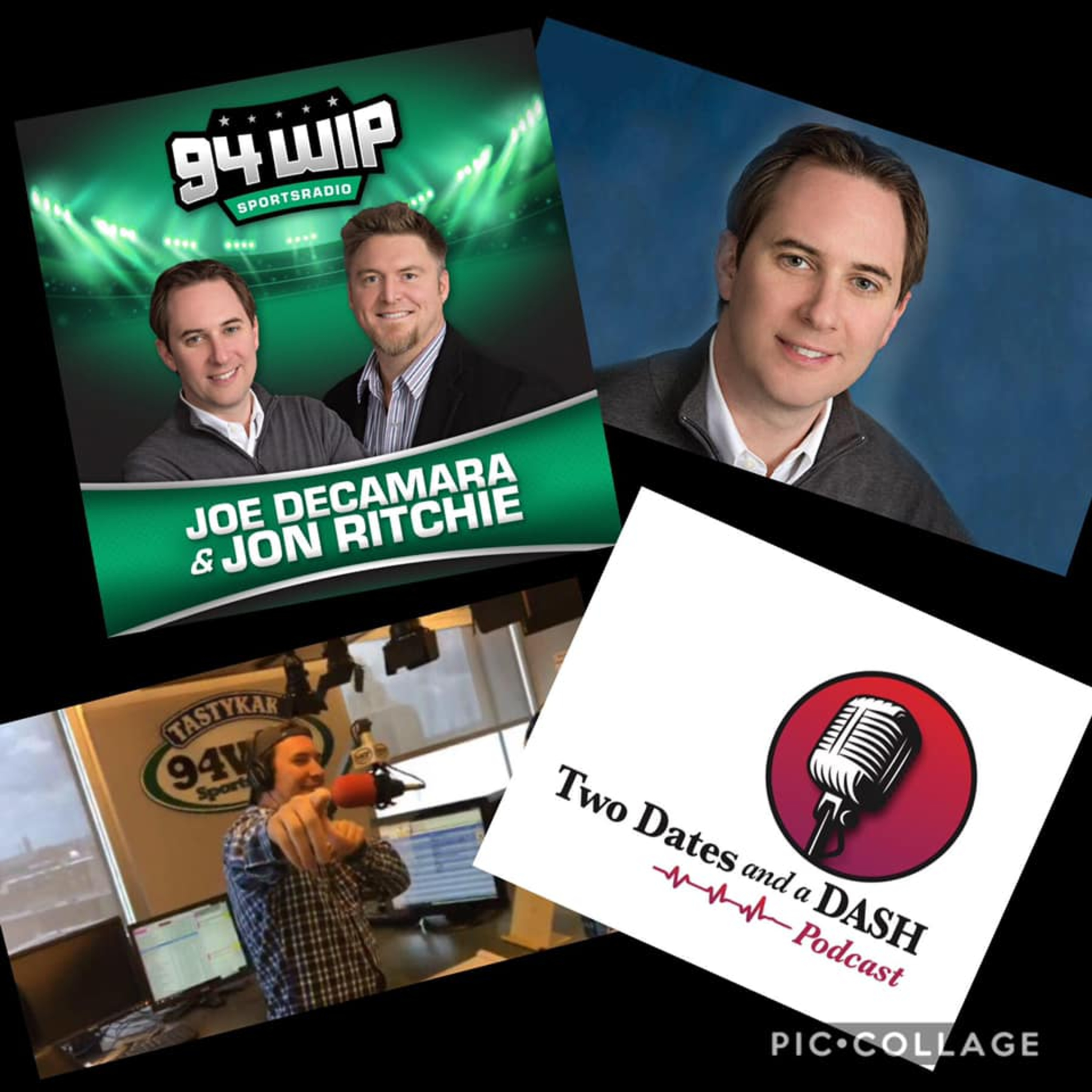 Two Dates and a Dash Podcast Episode 46: Philly Sports Radio Host and renowned Philly Sports Expert, Joe DeCamara