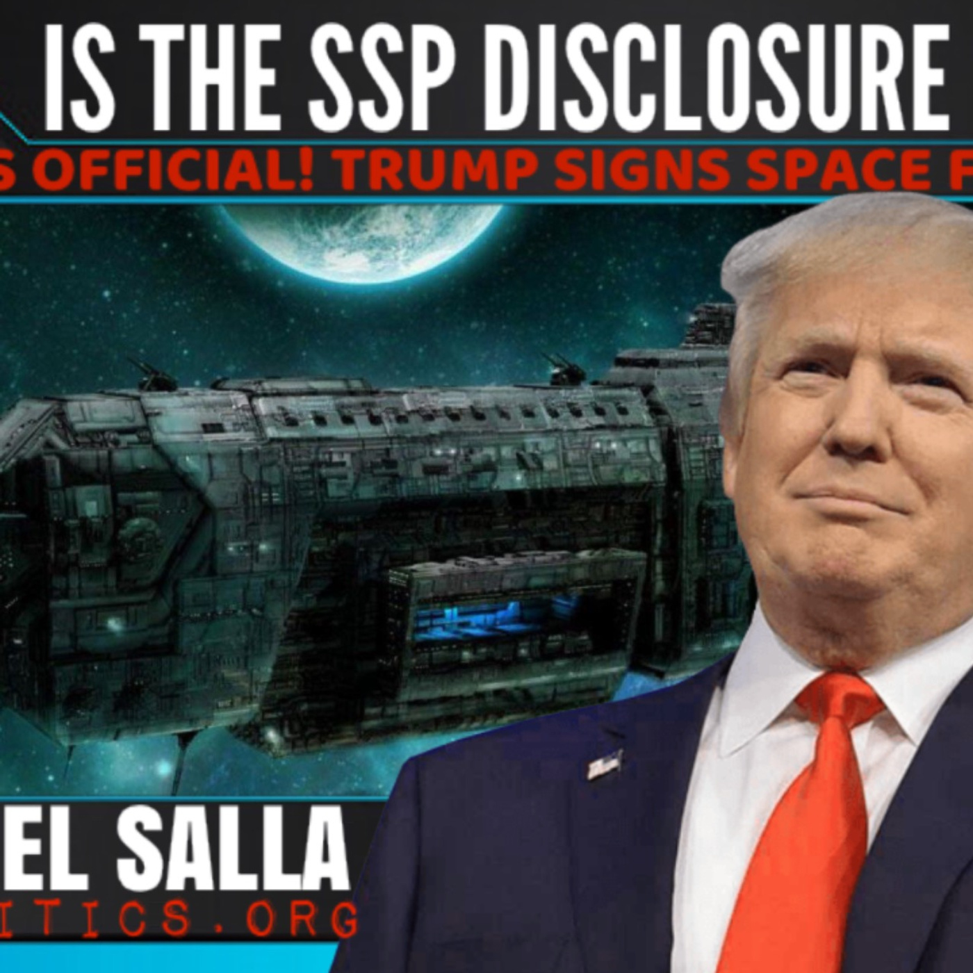 It's Official! Trump Signs Space Force Act: Is The Secret Space Program  Disclosure Imminent?
