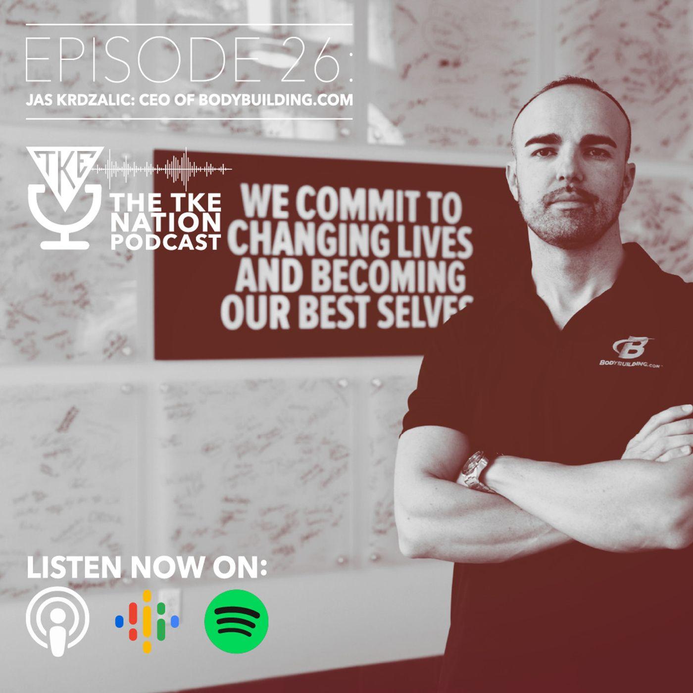 Jas Krdzalic: CEO of BodyBuilding.com