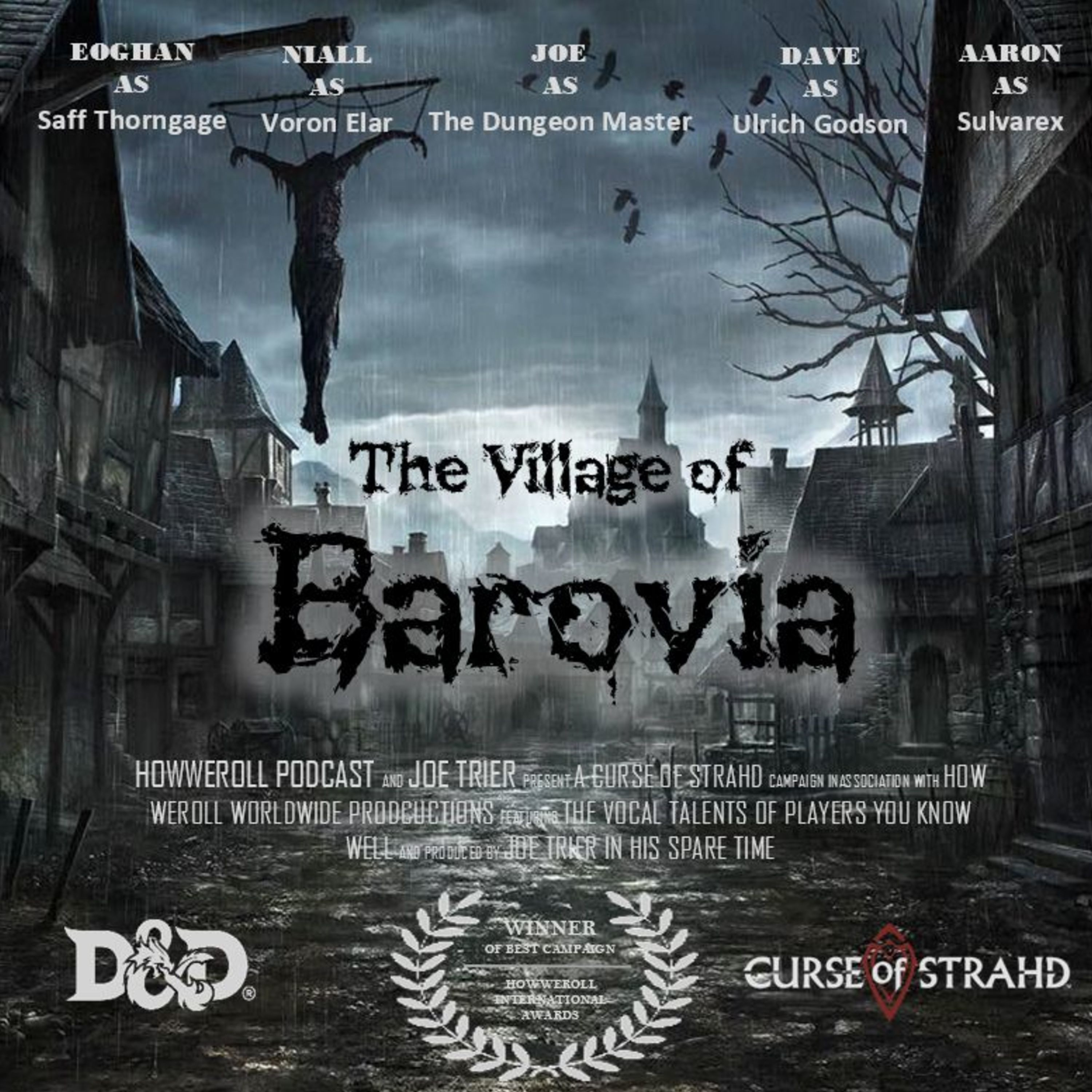 016 - Curse of Strahd - The Village of Barovia - How to Make