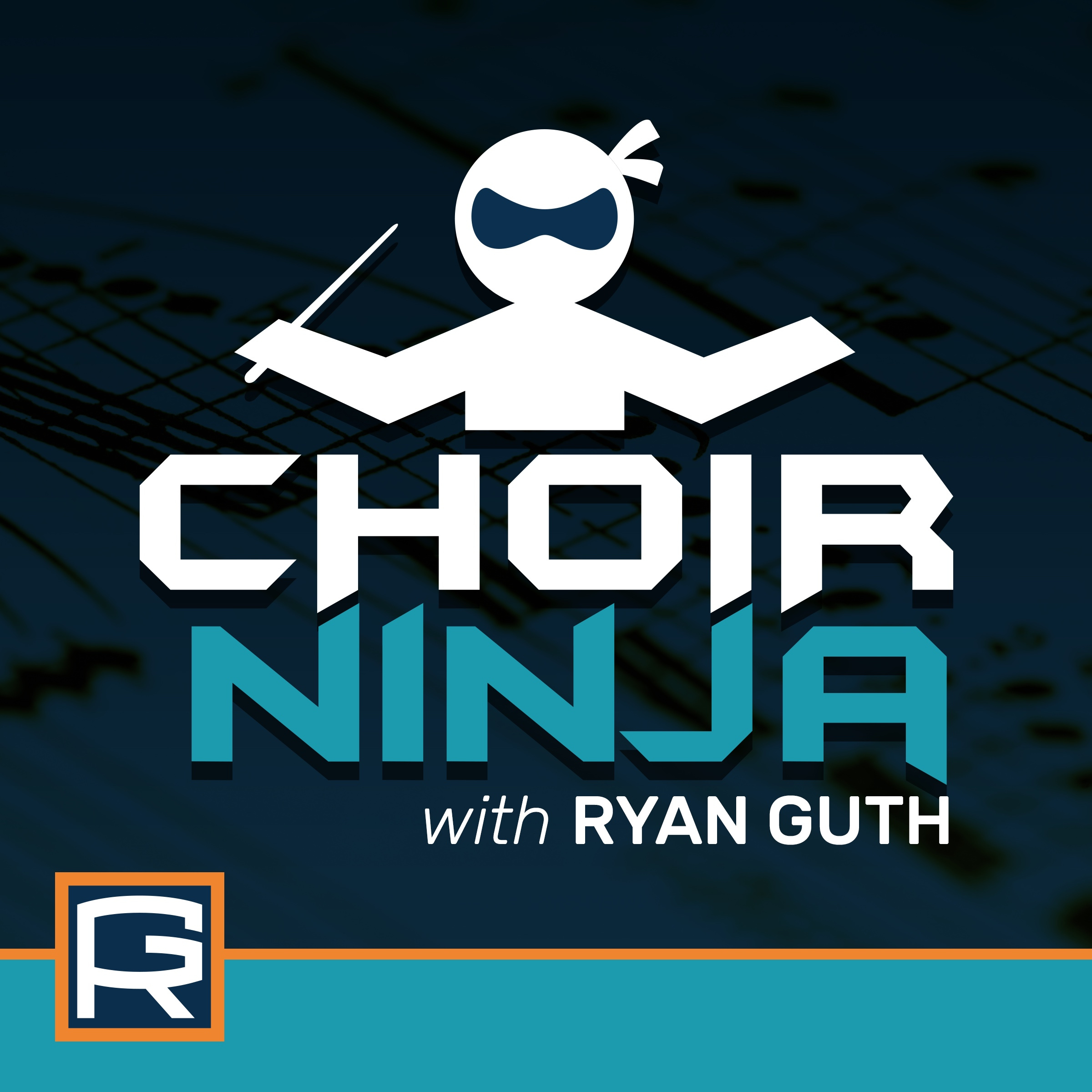 Choir Ninja, with Ryan Guth Logo