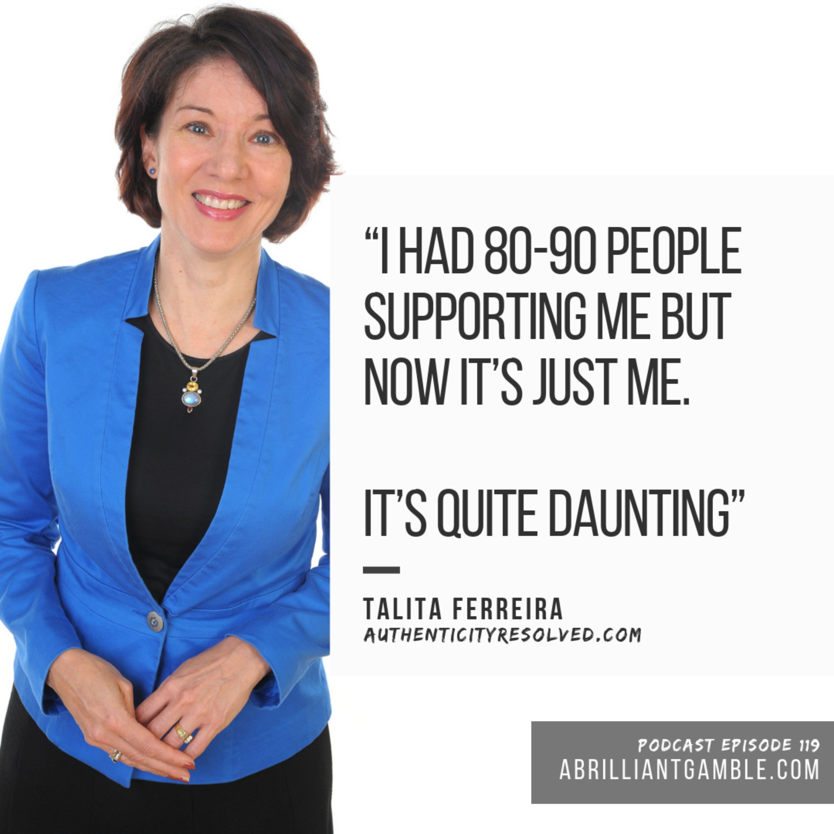 119 Living from the inside out, with Talita Ferreira