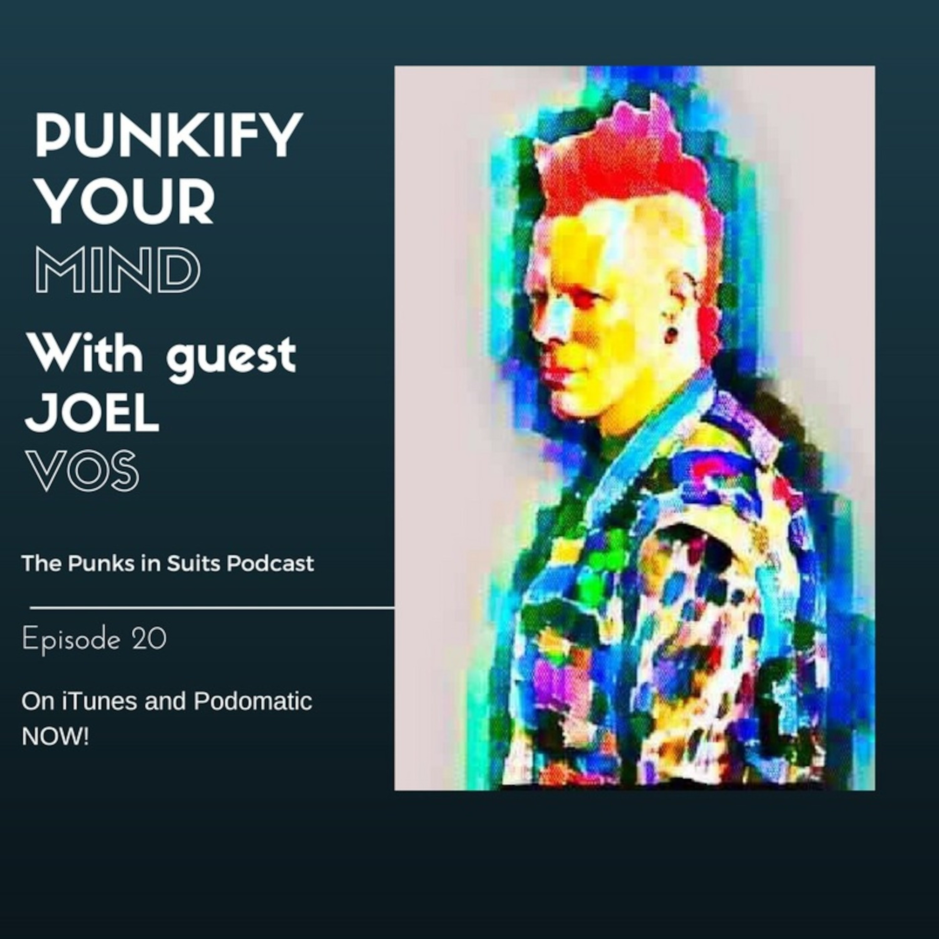 Episode 20: Punkify your Mind, with guest Joel Vos