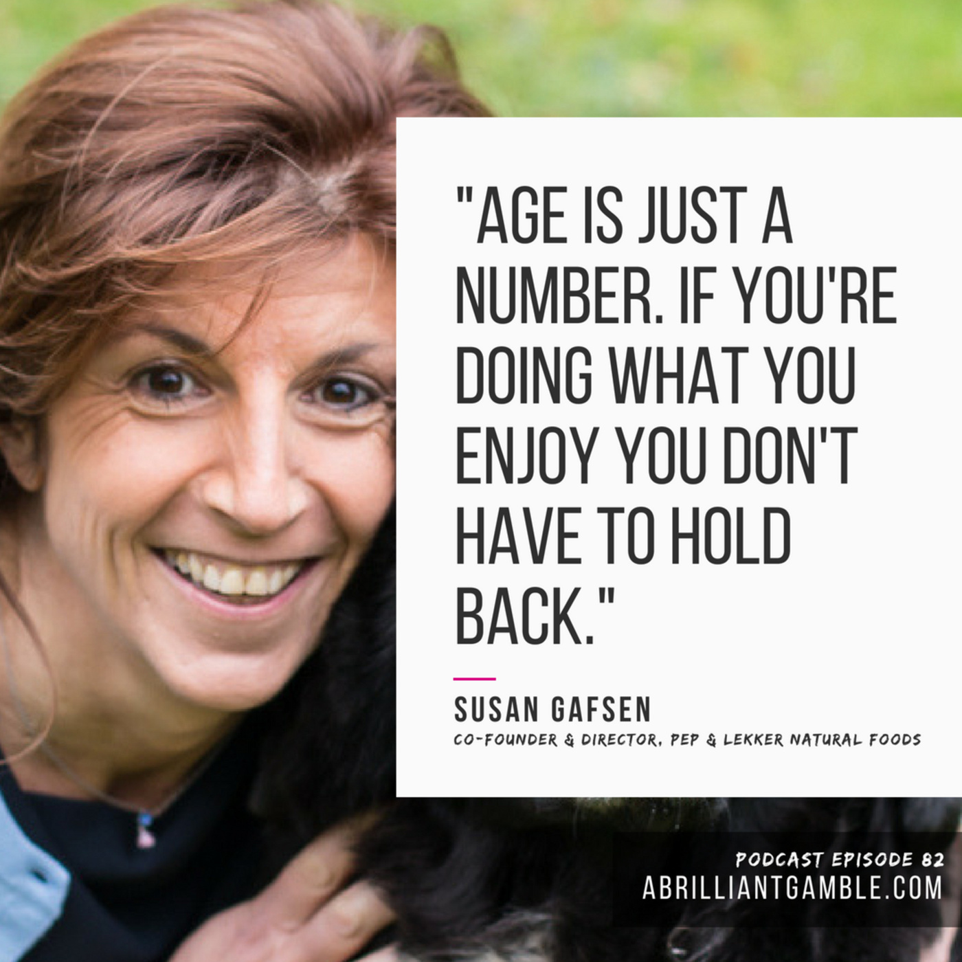 82 Forgetting the Rules with Susan Gafsen, Co-Founder and Director of Pep & Lekker