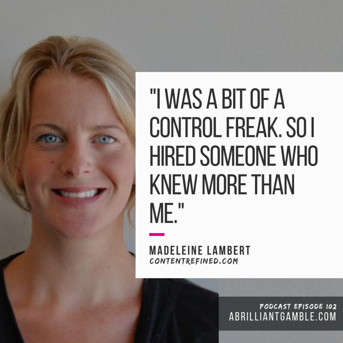 102 Building Family in to Your Business Plan with Madeleine Lambert