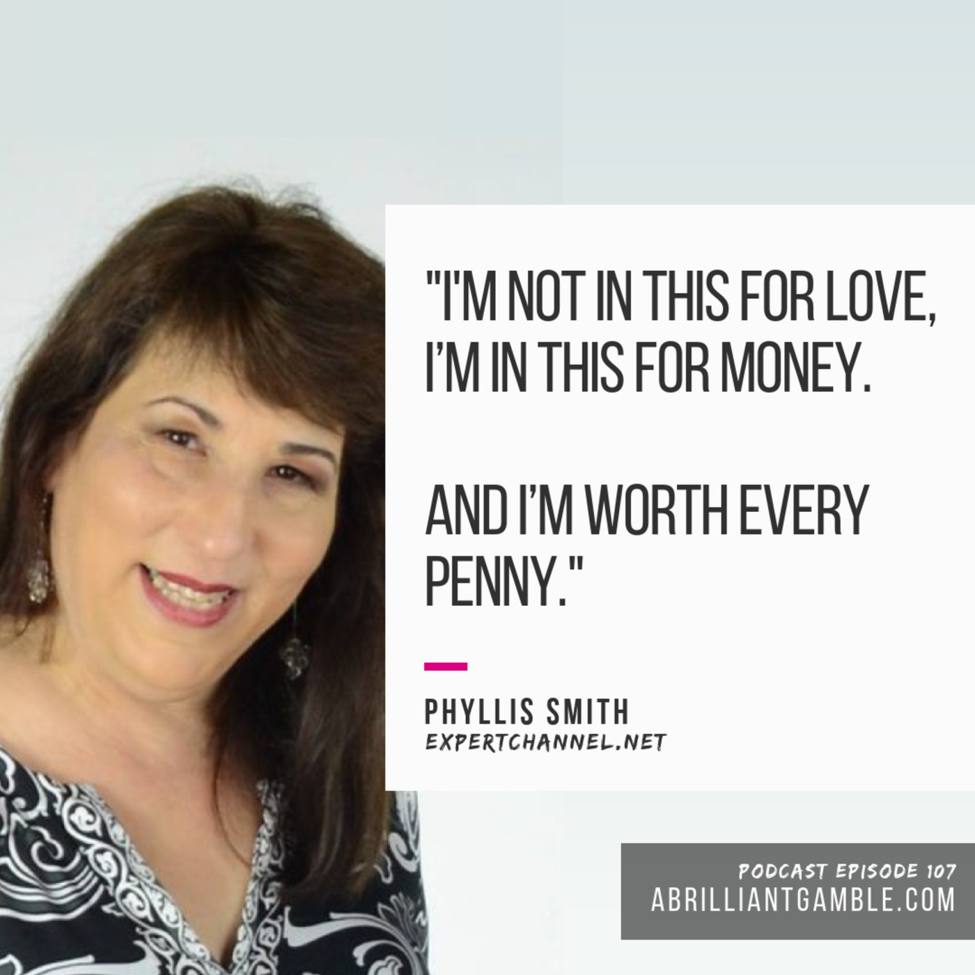 107 Thinking of starting a business? With Phyllis Smith