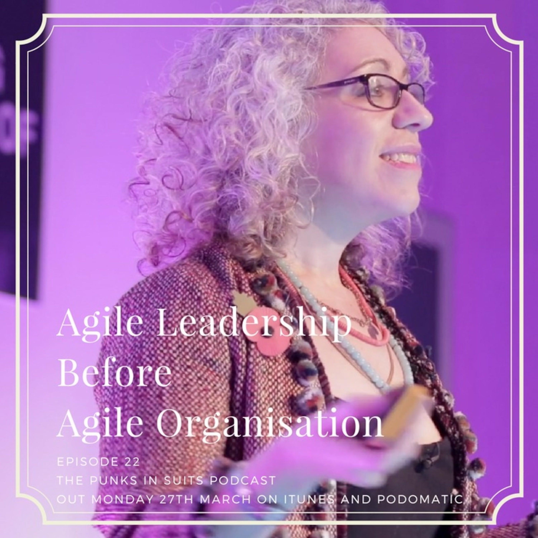 Episode 22: Agile Leadership Before Agile Organisation