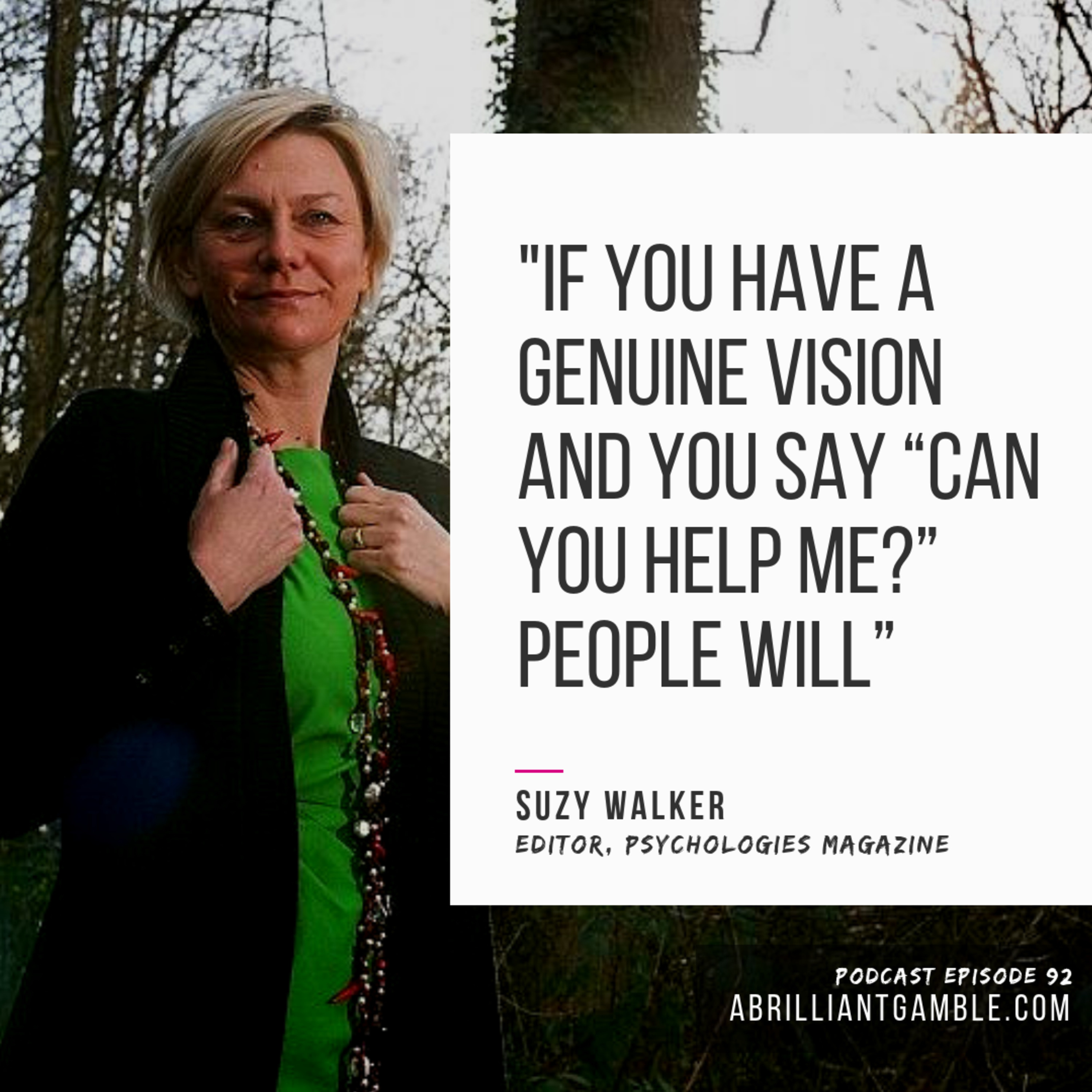 92 The Third Act Belongs to You, with Suzy Walker