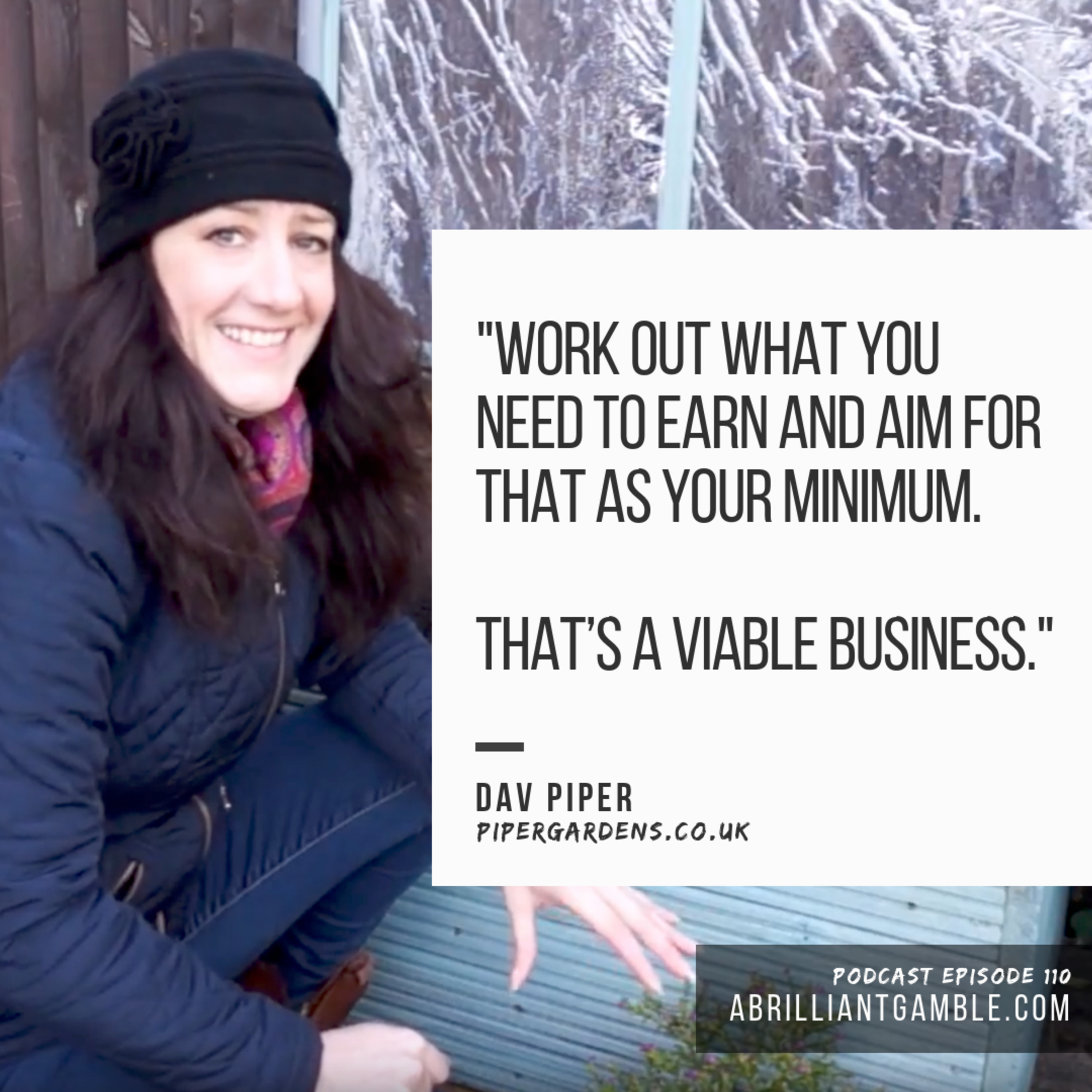 110 Looking For Your Passion, with Dav Piper