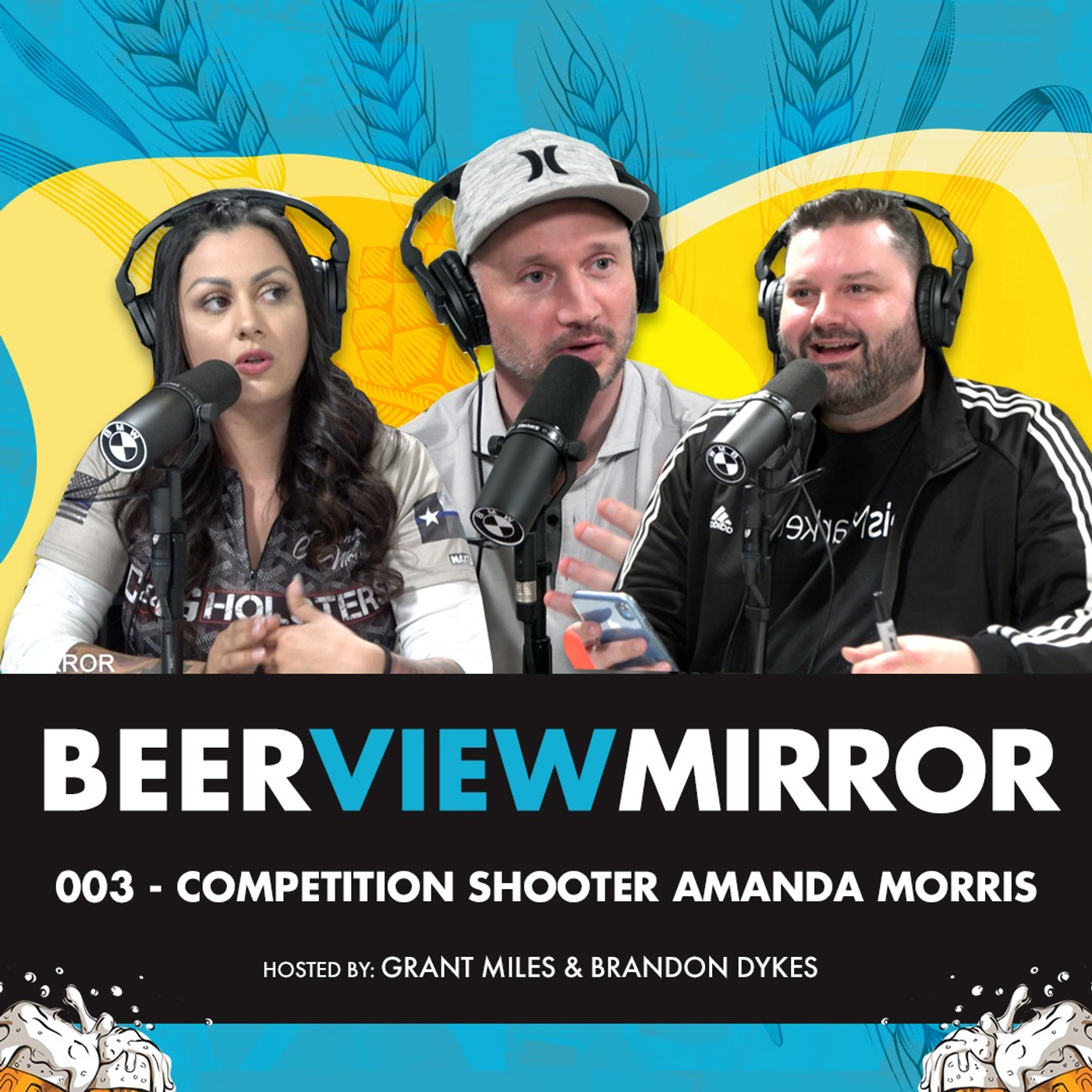 Beer View Mirror 003 Competition Shooter Amanda Morris