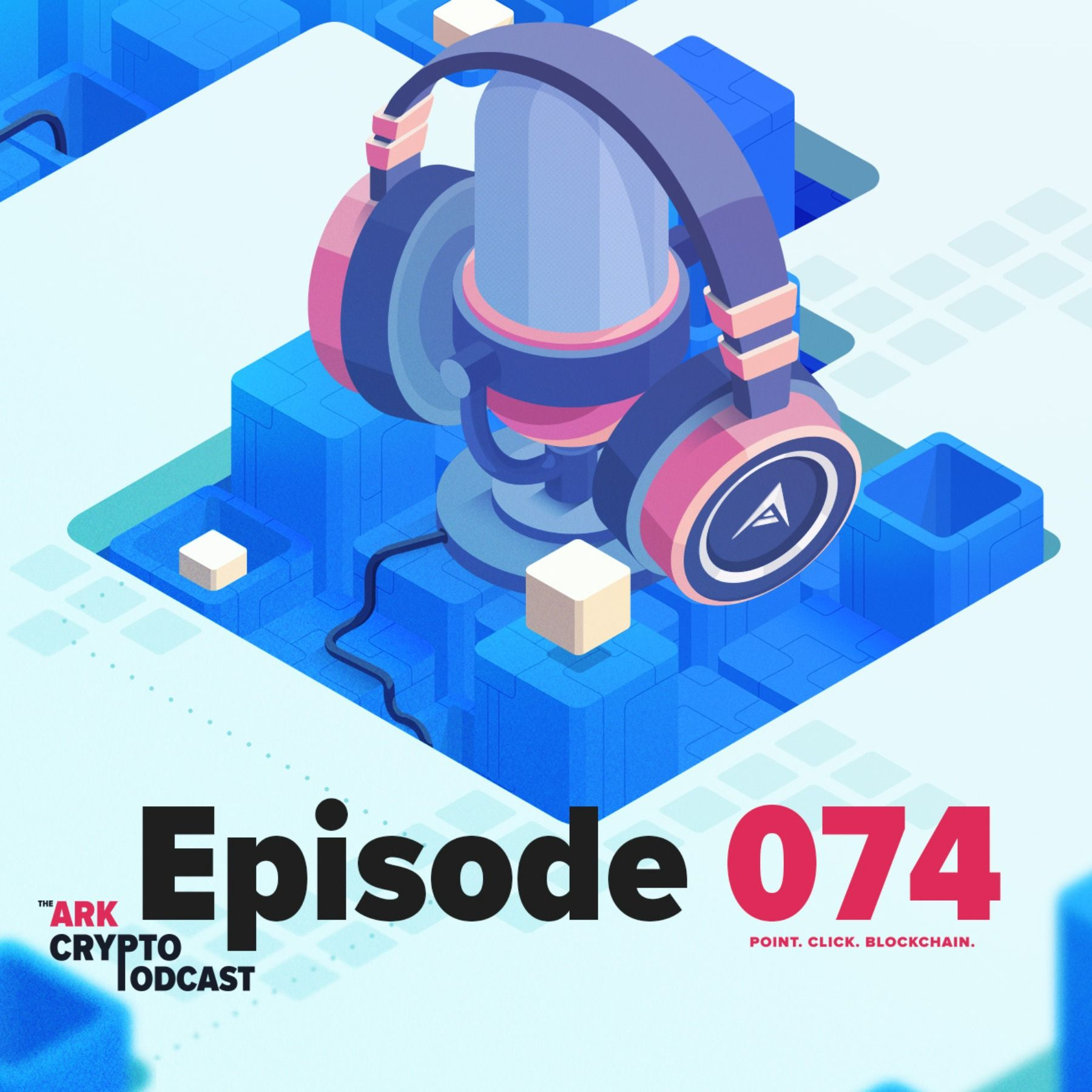 ARK Crypto Podcast #074 - Unikname Interview Part 2 Featuring CTO Damien and Community Manager Florian