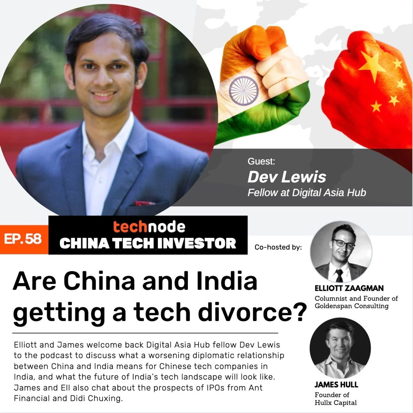 58: Are China and India getting a tech divorce? With Dev Lewis