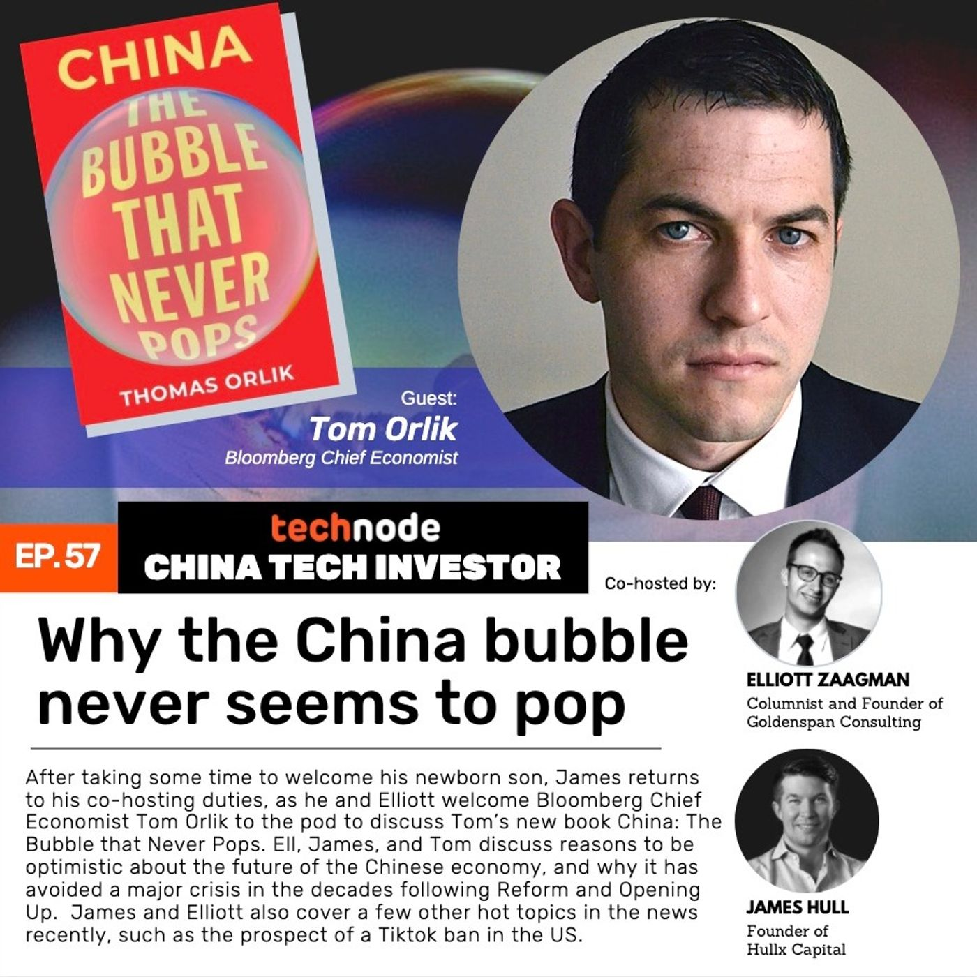 57: Tom Orlik on why the China bubble never seems to pop