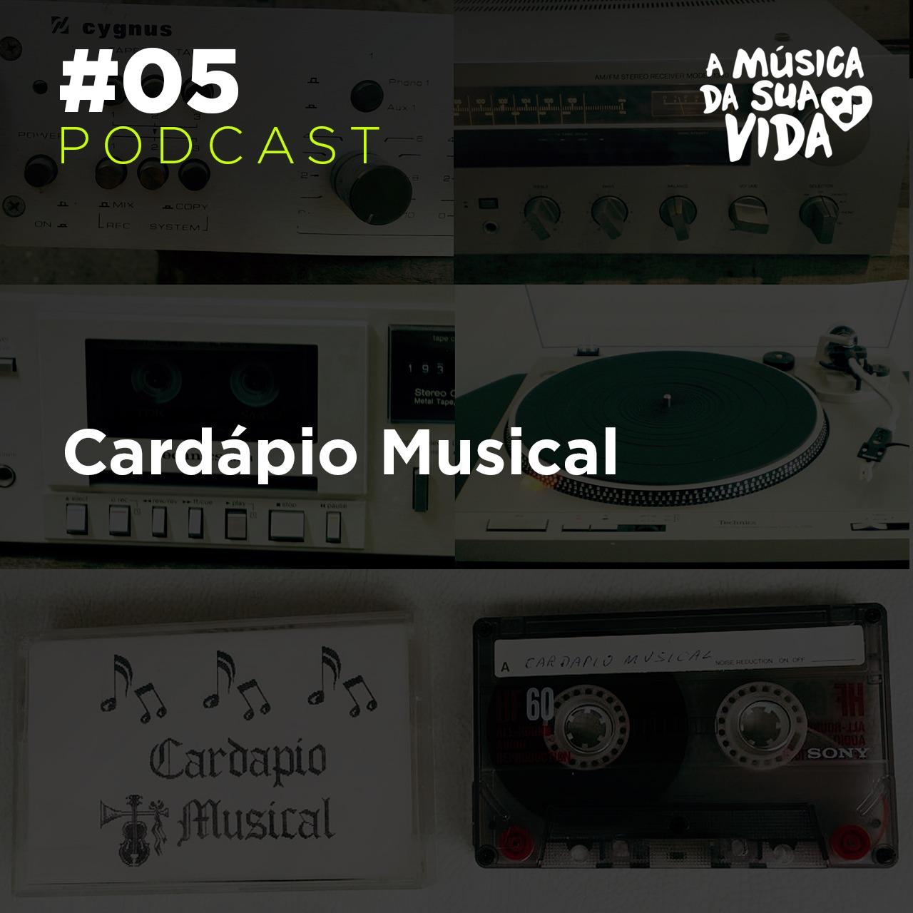 #05 - Cardápio Musical