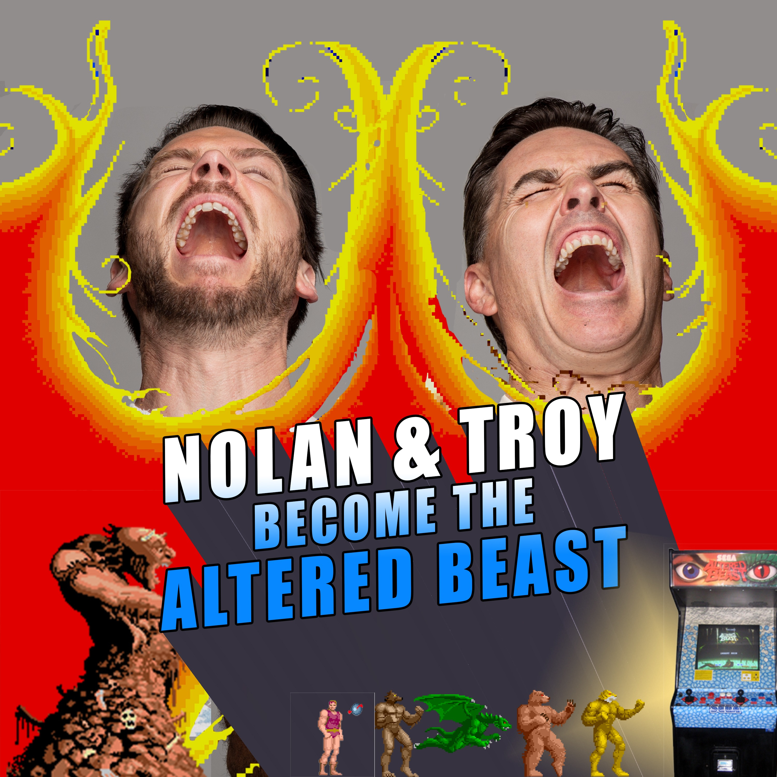 RETRO REWIND - Nolan North and Troy Baker Become the Altered Beast