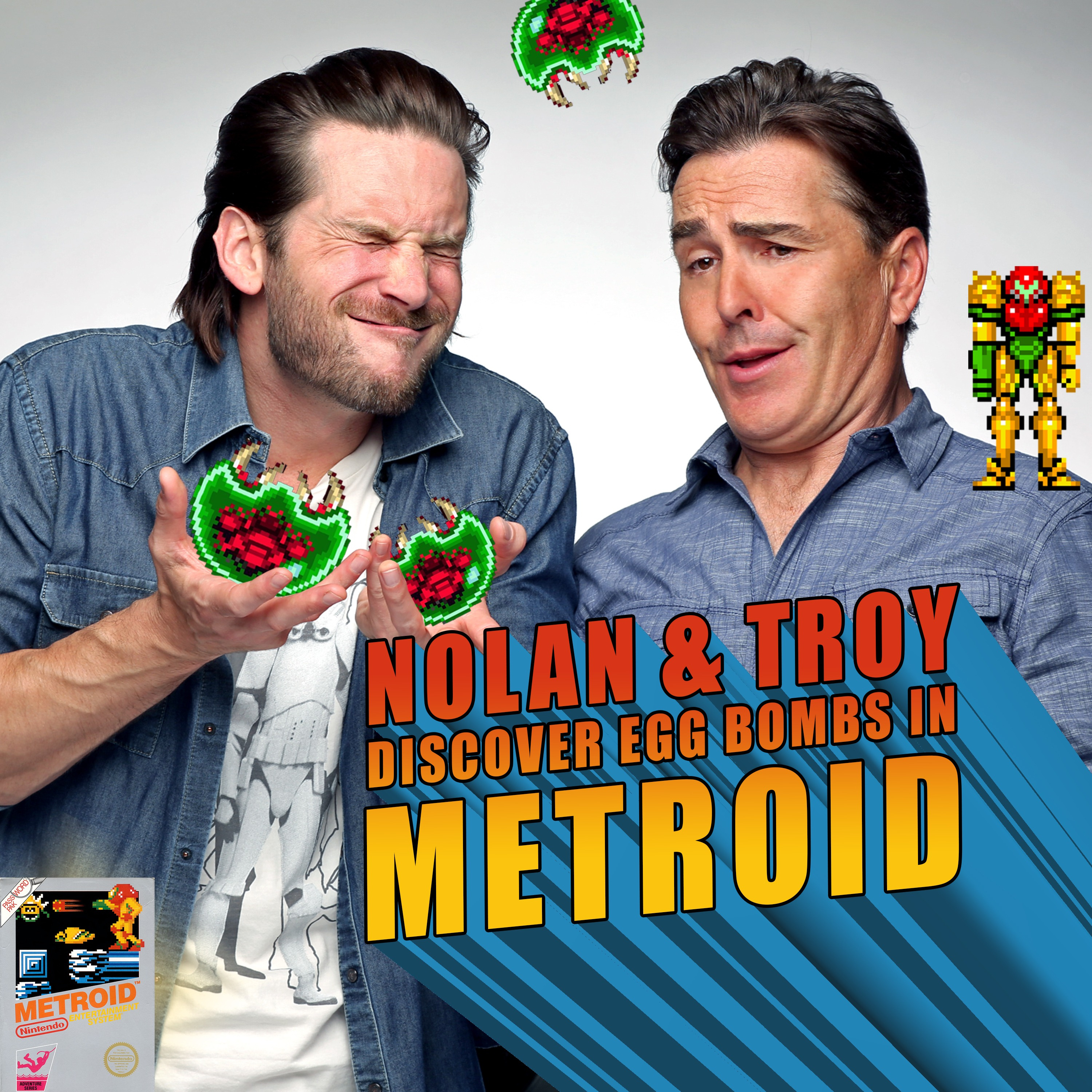 RETRO REWIND - Nolan North and Troy Baker Discover Egg Bombs in Metroid