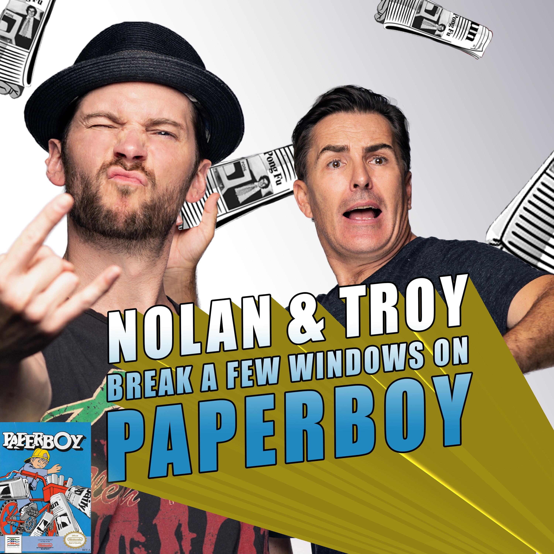 RETRO REWIND - Nolan North and Troy Baker Break a Few Windows on Paperboy