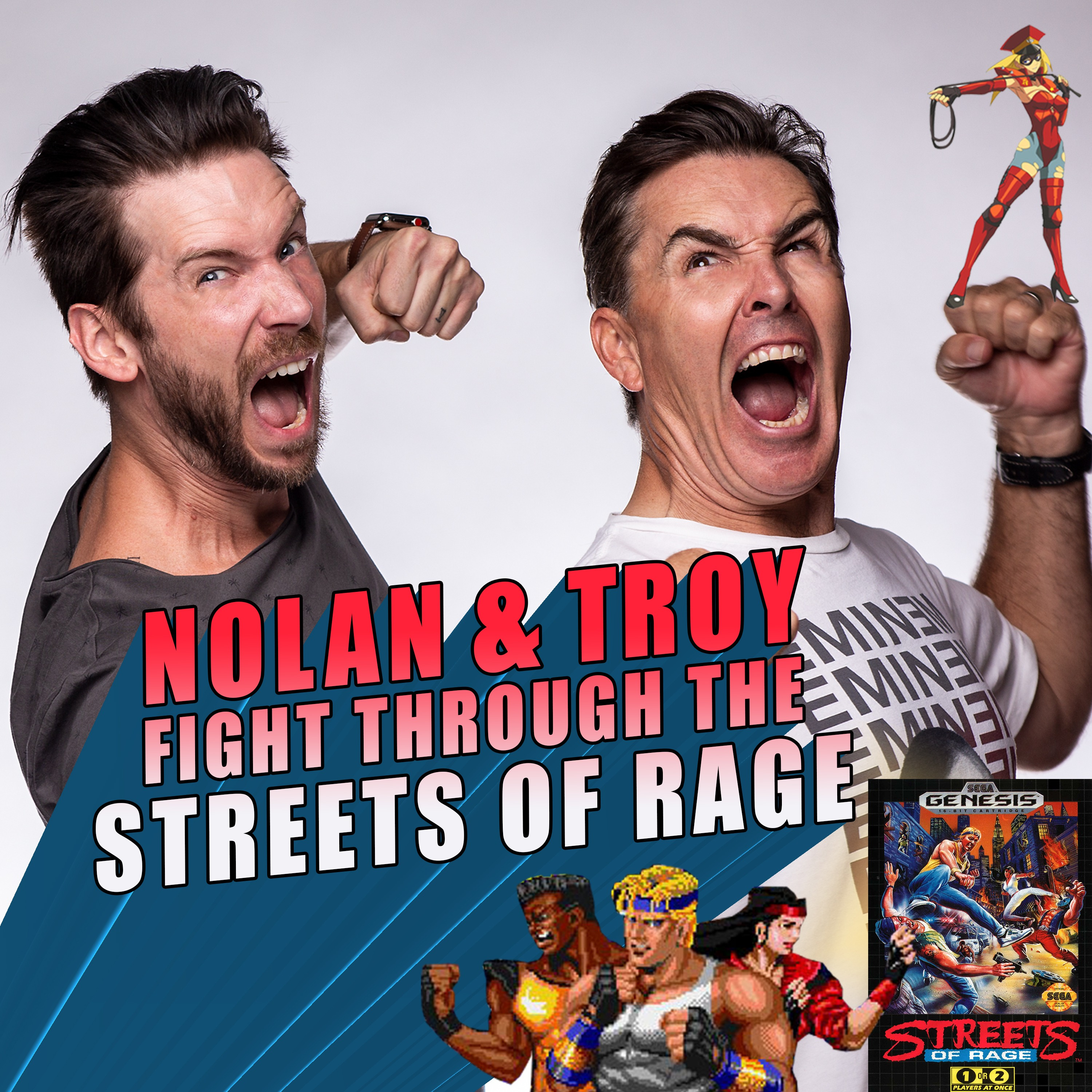 RETRO REWIND - Nolan North and Troy Baker Fight Through the Streets of Rage