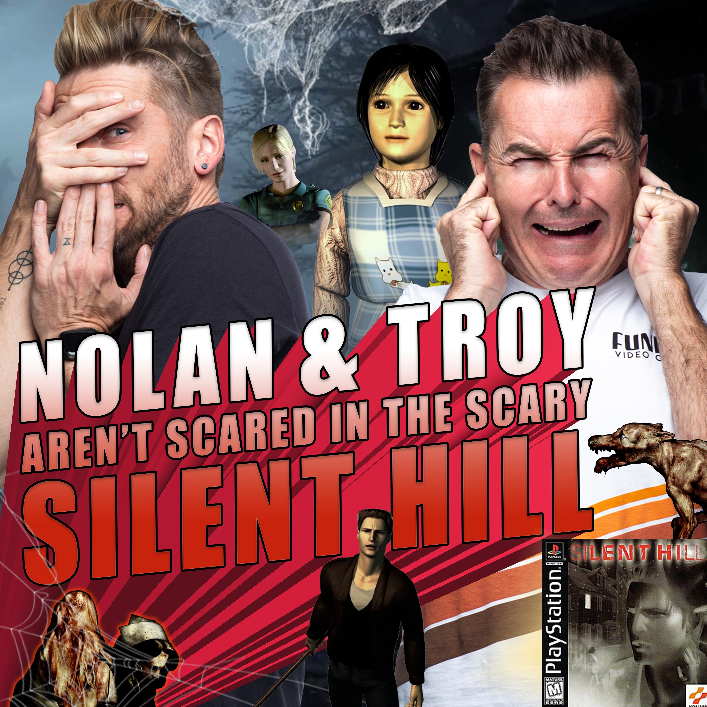 Nolan North and Troy Baker aren't Scared in the Scary Silent HiIl