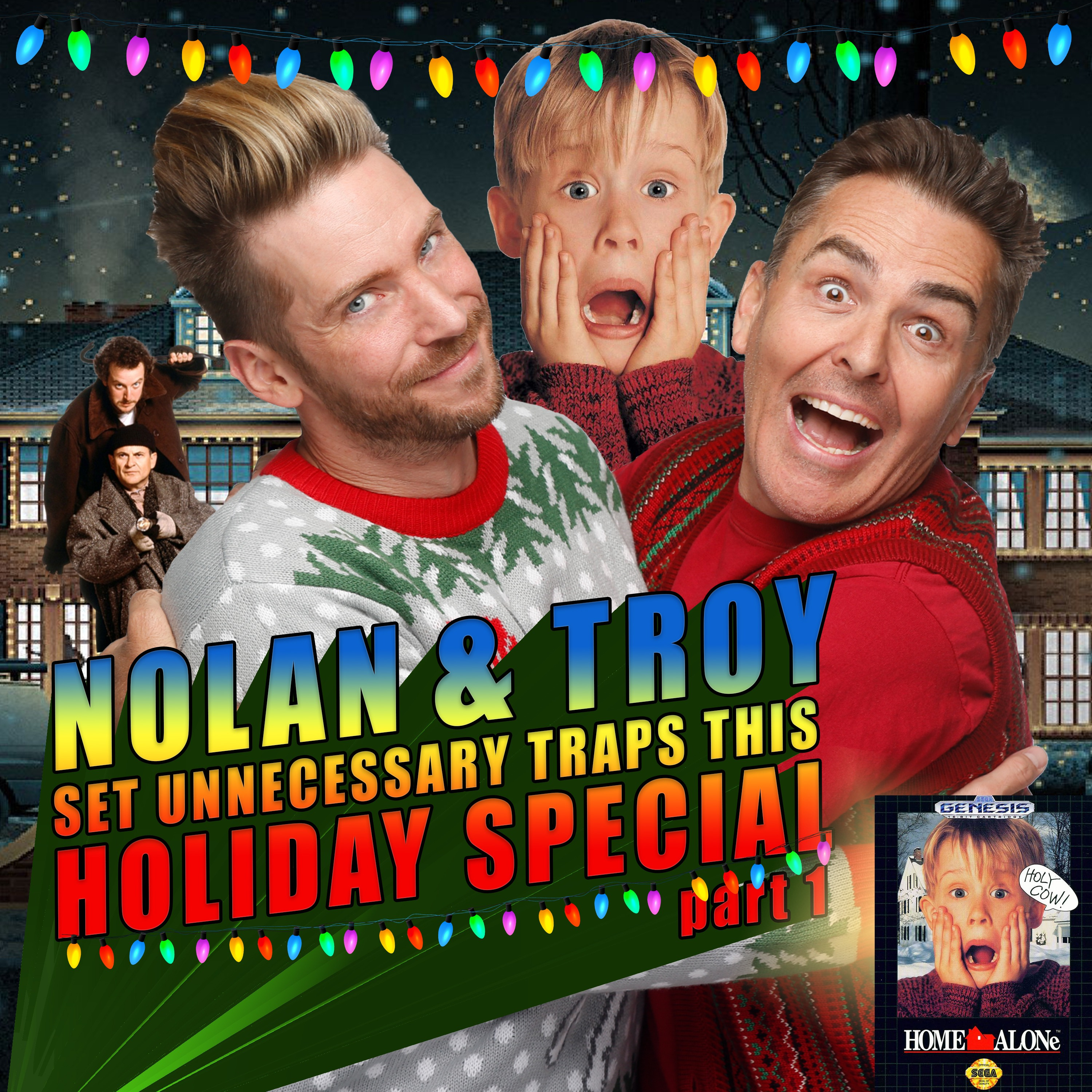 Nolan North and Troy Baker set Unnecessary Traps this Holiday Special Part 1