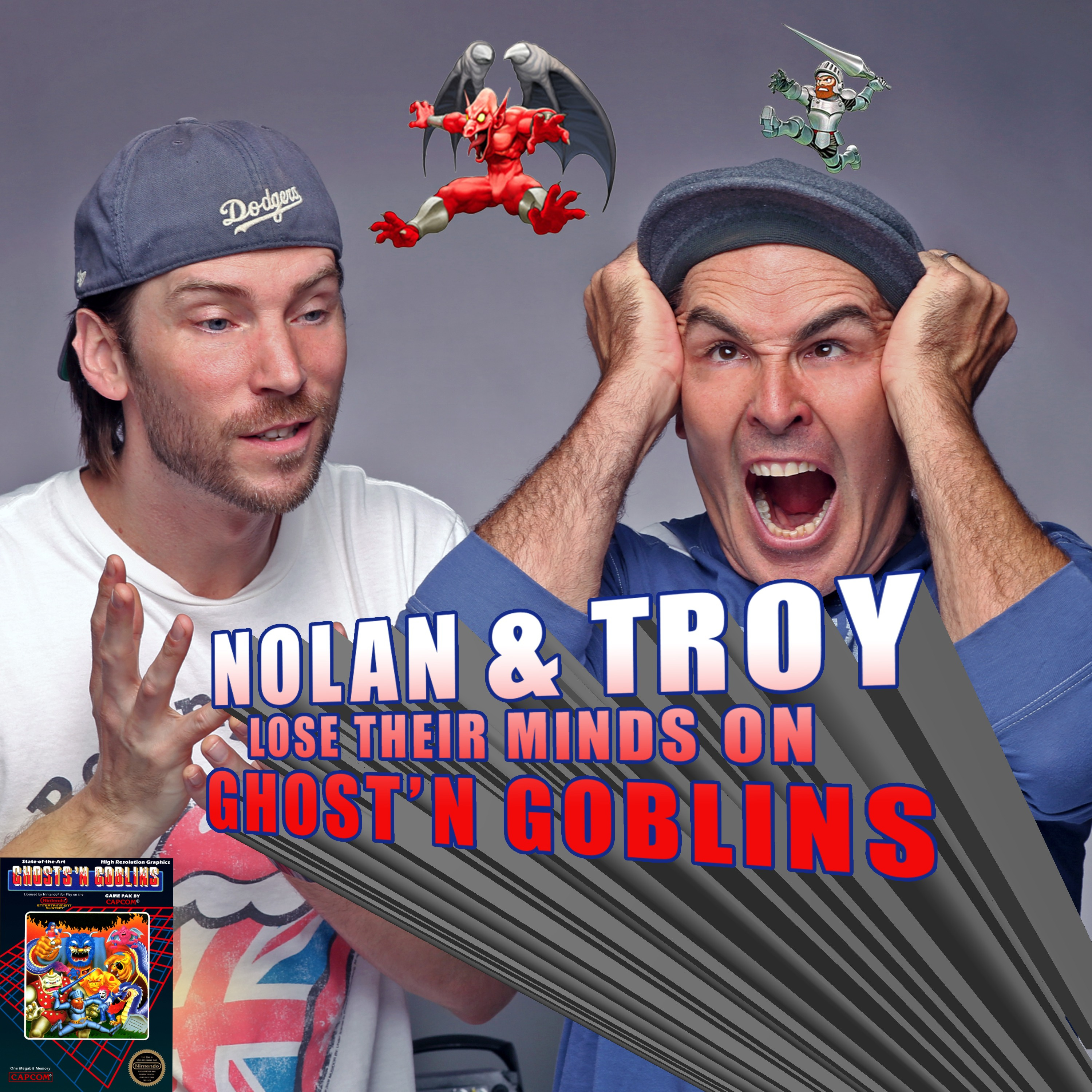 RETRO REWIND - Nolan North and Troy Baker Lose Their Minds on Ghost'N Goblins