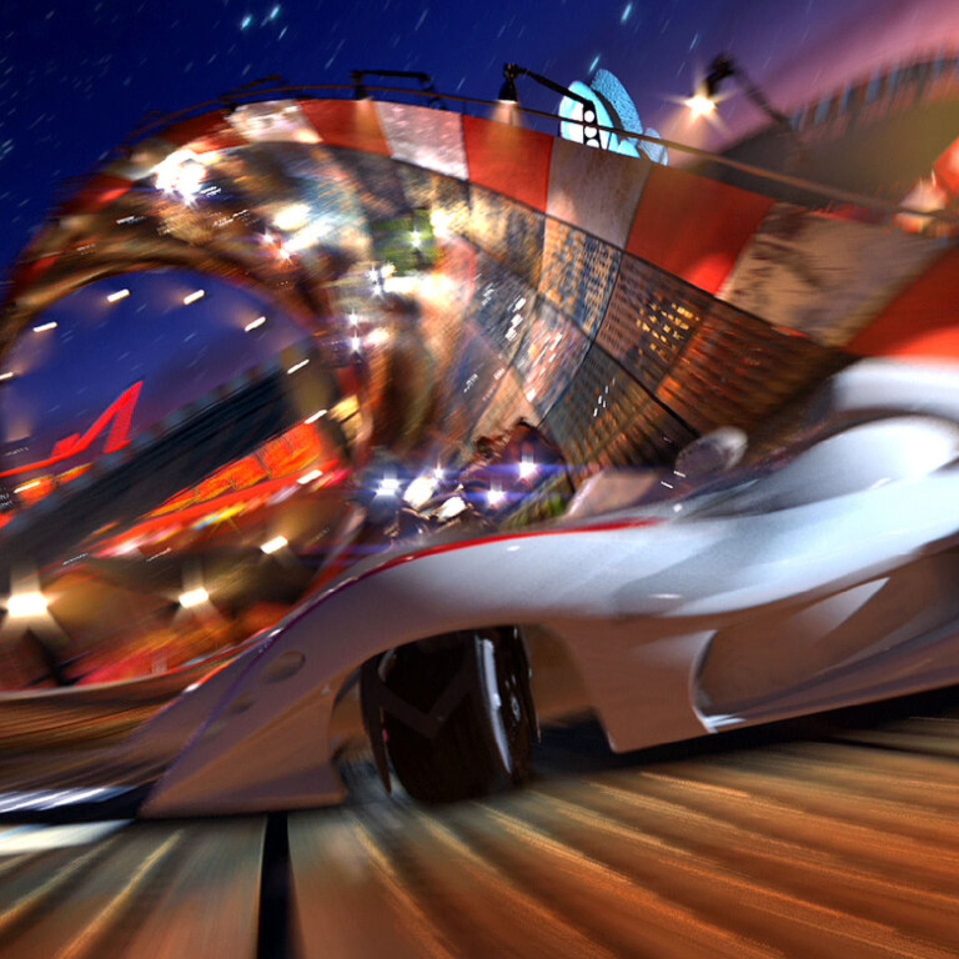 Speed Racer (Filmmaking Elements)