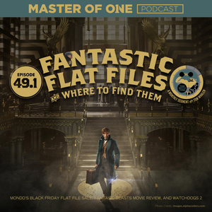 Episode 49.1: Fantastic Flat Files and Where to Find Them - with Tom Whalen