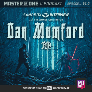 Episode 91.2: Sandbox Interview - with Freelance Illustrator Dan Mumford