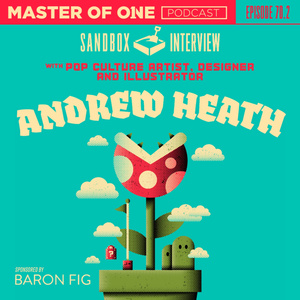 Episode 70.2: Sandbox Illustrator with Designer and Illustrator Andrew Heath