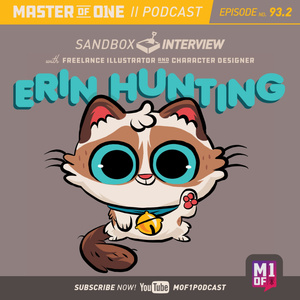 Episode 93.2: Sandbox Interview with Freelance Illustrator and Character Designer Erin Hunting