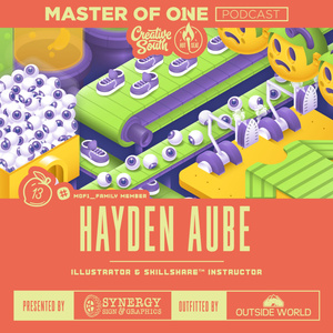 Creative South Live Episode 13: Hayden Aube