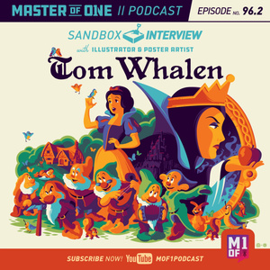 Episode 96.2: Sandbox Interview with Illustrator & Poster Artist Tom Whalen