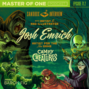 Episode 71.2: Sandbox Interview - with Artist & Illustrator Josh Emrich