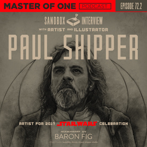 Episode 72.2: Sandbox Interview - with Artist & Illustrator Paul Shipper
