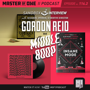 Episode 116.2: Sandbox Interview with Designer, Speaker, & Creative Director Gordon Reid aka Middle Boop