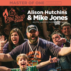 Creative South Live Episode 25: Alison Hutchins & Mike Jones