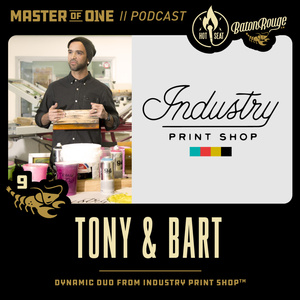 Crop Hot Seat 9: Tony & Bart from Industry Print Shop