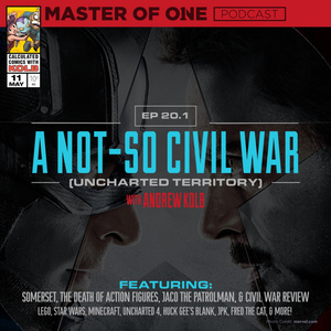 Episode 20.1: A Not-So Civil War (Uncharted Territory) - with Andrew Kolb