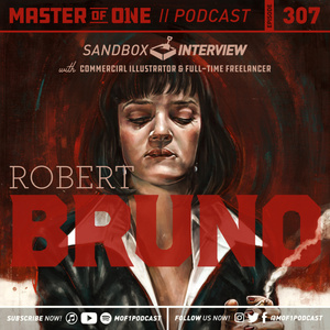 Episode 307: Sandbox Interview with commercial illustrator and full-time freelancer Robert Bruno
